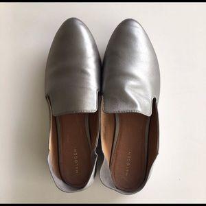 Halogen Sylvia Loafer- Silver Size 8.5